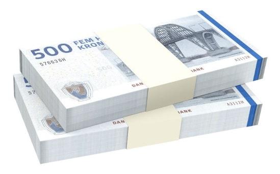 Hvor meget kan jeg låne online?